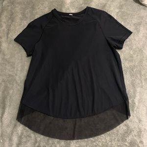 Open back lululemon short sleeve